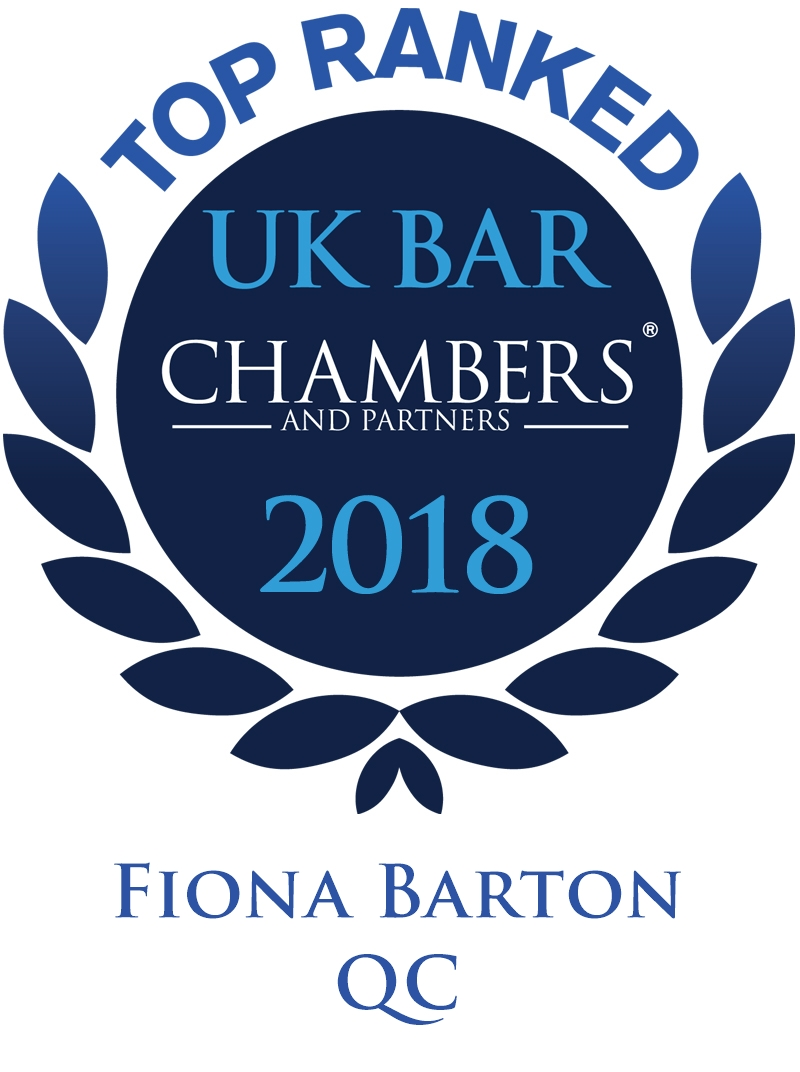 Fiona Barton QC Awards