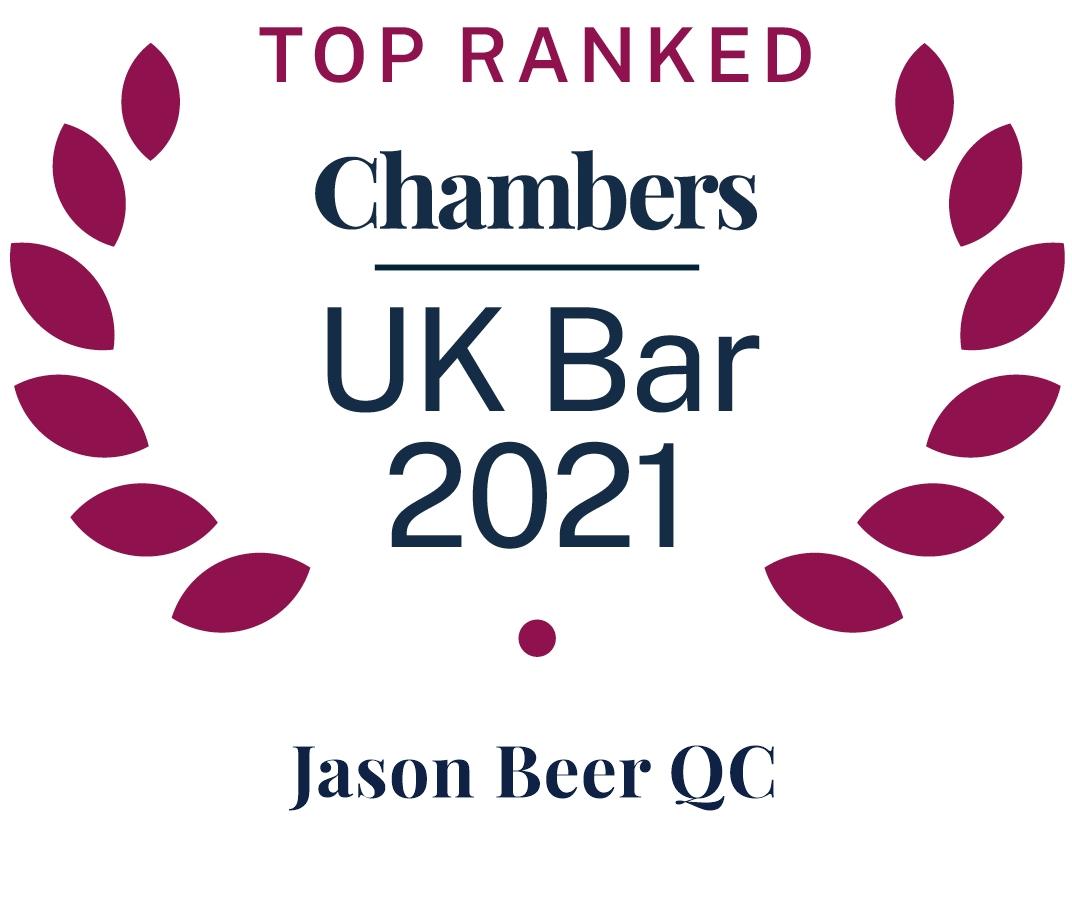Jason Beer QC Awards