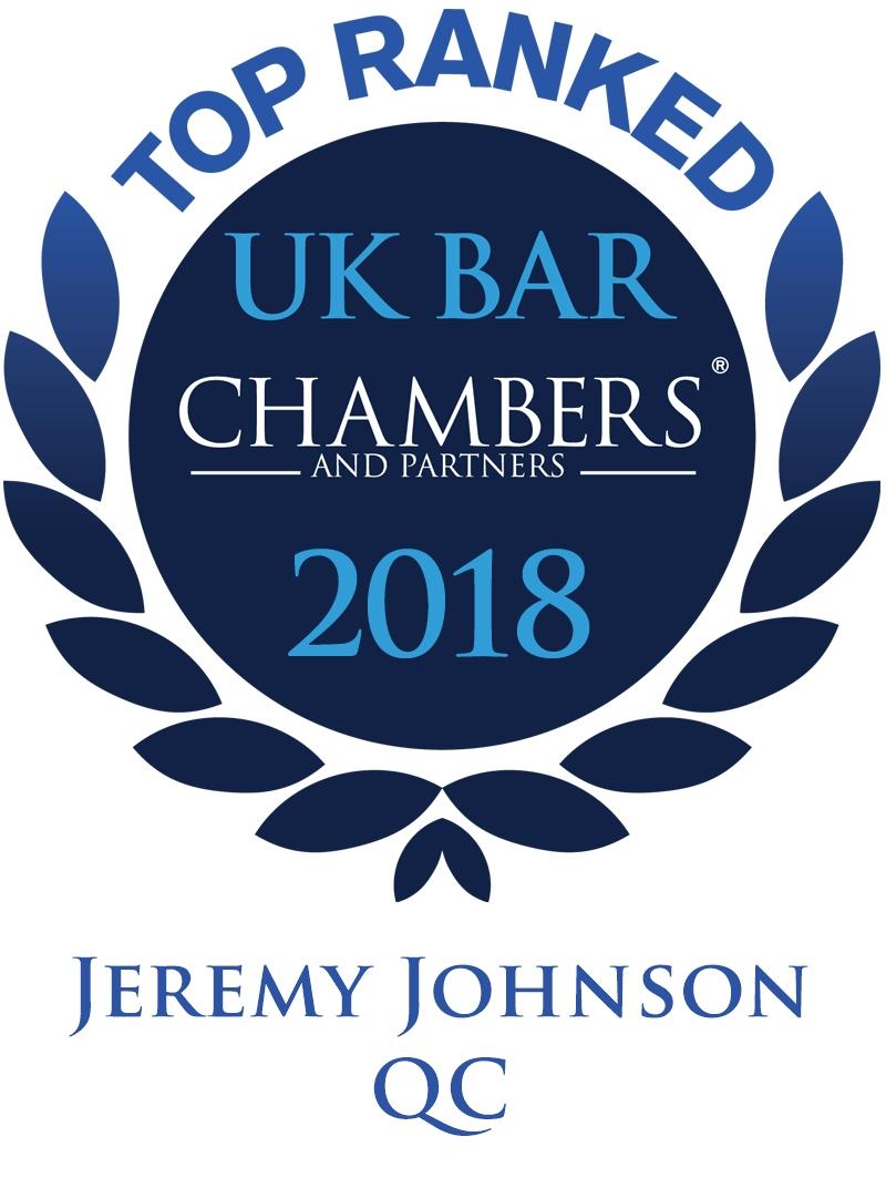 Jeremy Johnson QC Awards