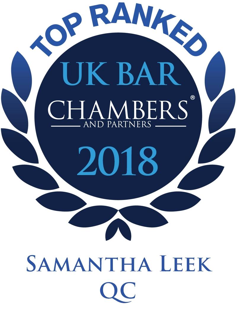 Samantha Leek QC Awards
